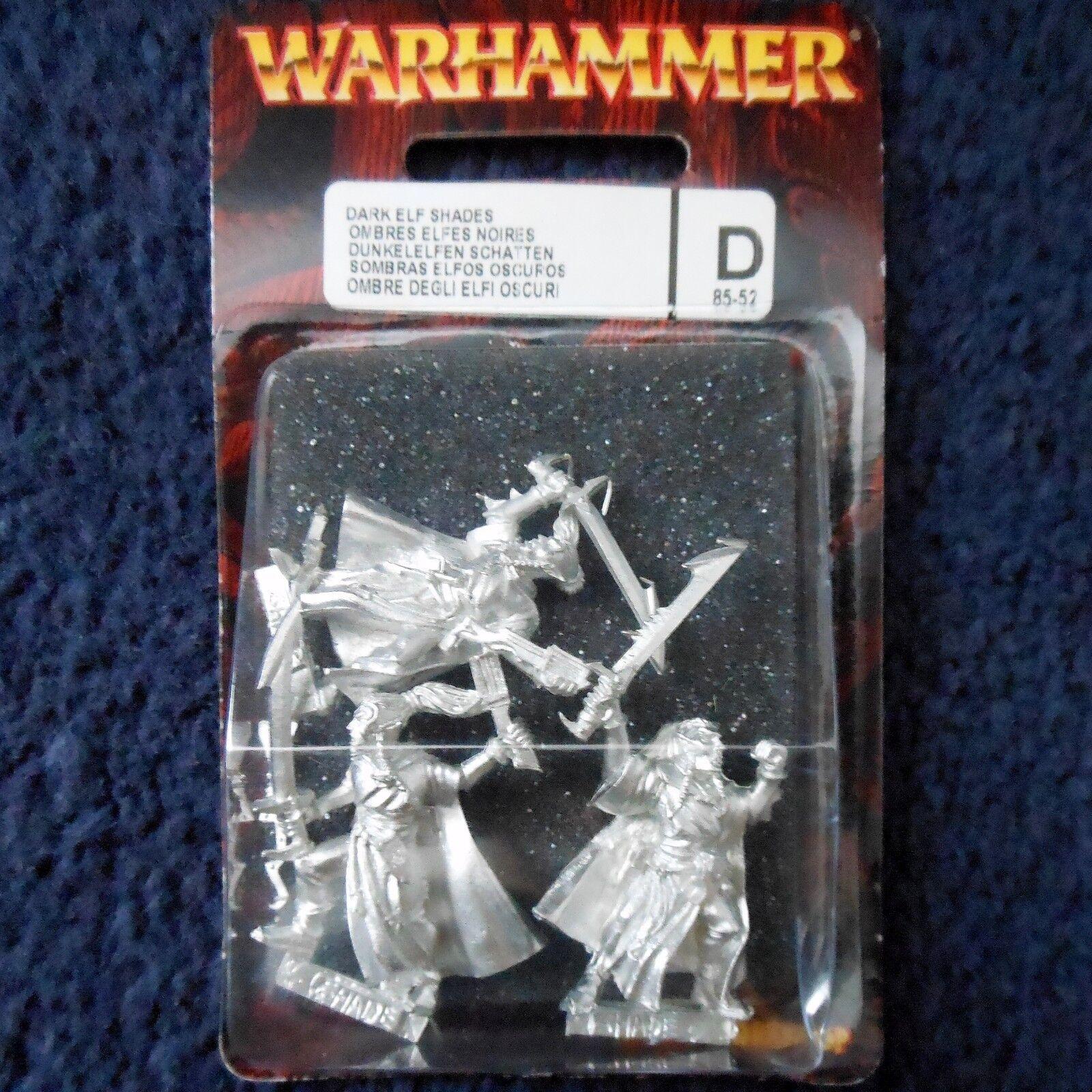 2001 Dark Elf Shade S1 Games Workshop Warrior Drow Warhammer Army Assassin MIB