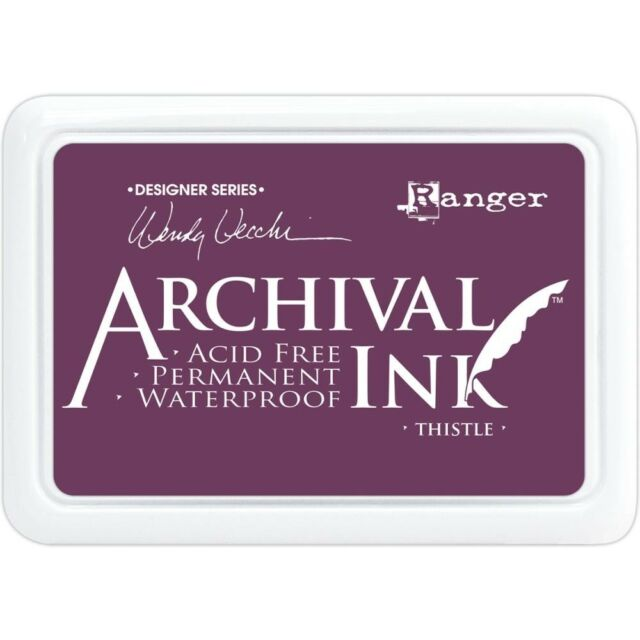 Archival Ink Pad - Thistle