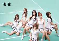 AOA - A3 Laminated Poster - Korean pop - k pop - Heart Attack- Like a cat -