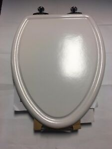 American Standard Toilet Seats >> Details About From American Standard Traditional Toilet Seat Chrome Hinges White 420013 020