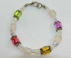 mode-Schmuck-Armband-Wuerfel-TRAUM-in-WEISS-BUNT-mehrfarbig-multicolor-176a