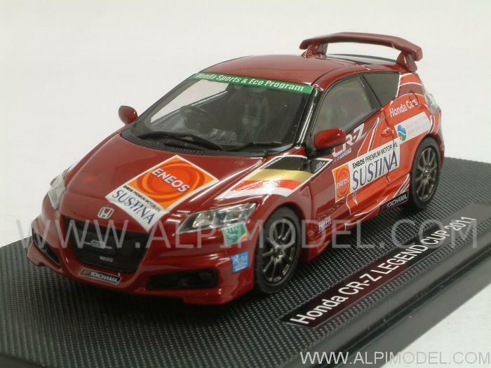 Honda CR-Z Legend Cup 2011 rosso with decals for N.2 8 1 43 EBBRO 44693