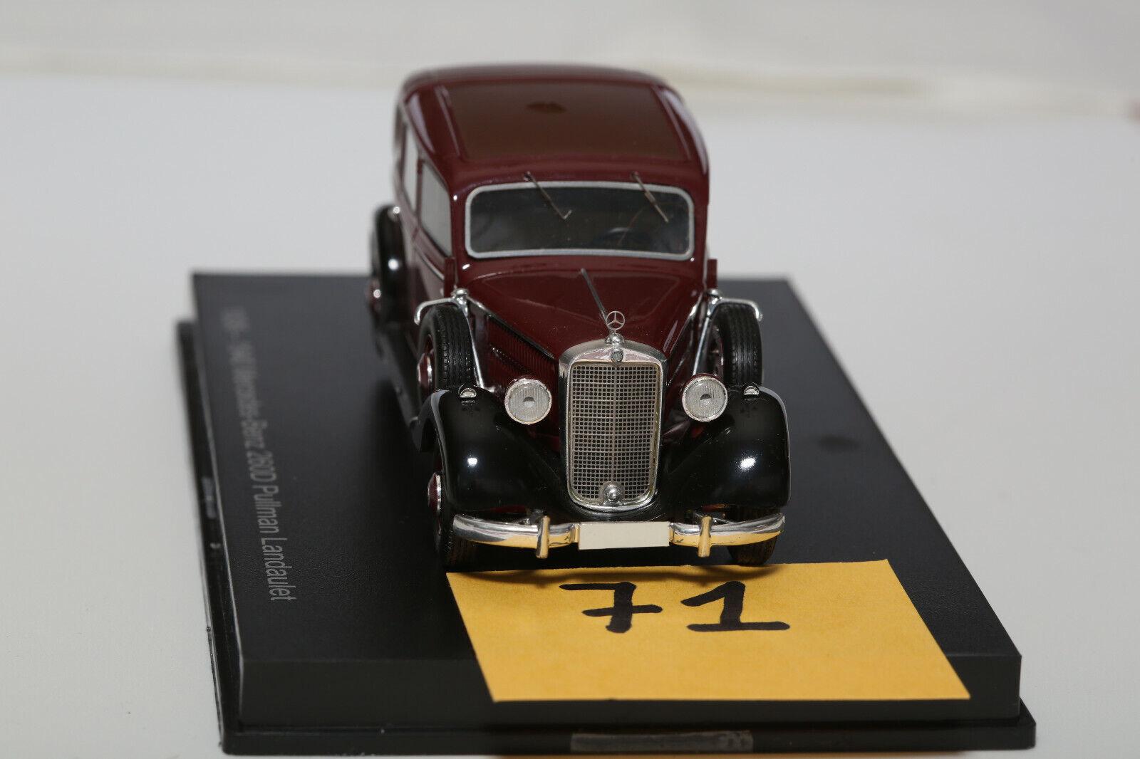 -Mercedès (71) 260D Pulman Landaulet-1936-Esval-1 43