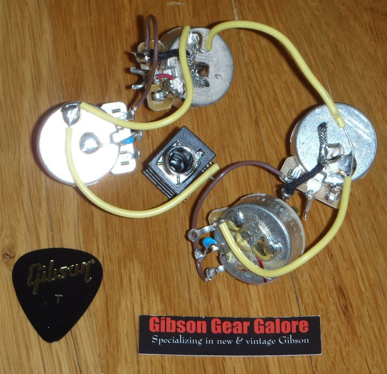 Gibson Firebird Pot Control HP Assembly CTS Potentiometer Set SG Guitar Parts T