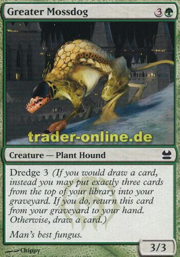 Modern Masters Magic 4x Greater Mossdog Größerer Mooshund