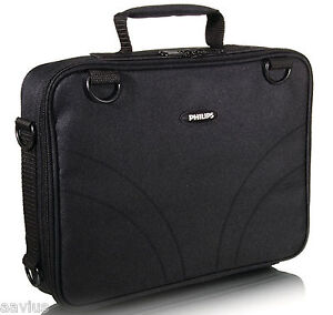 Philips-7-034-9-034-Portable-DVD-Player-Padded-Bag-Case-with-Car-Mount-Shoulder-Strap
