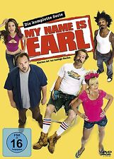 My Name Is Earl - Die komplette Serie - Staffel/Season 1+2+3+4 - 16-DVD-BOX