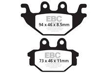 FIT CAN AM (ATV)  DS 250 (3J7A/B/C) 07>14 EBC REAR ORGANIC BRAKE PADS