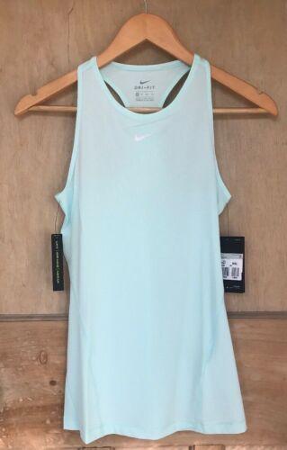 Nike Pro Malla Camiseta sin mangas Talla XS 6 8 Aqua BNWT