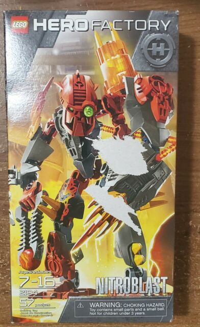 LEGO Hero Factory Nitroblast 2194 NEW Sealed Box