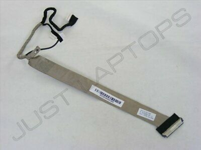 """Genuine HP Compaq 6910p Laptop 14/"""" LCD Screen Display LVDS Cable DC02000CZ00"""