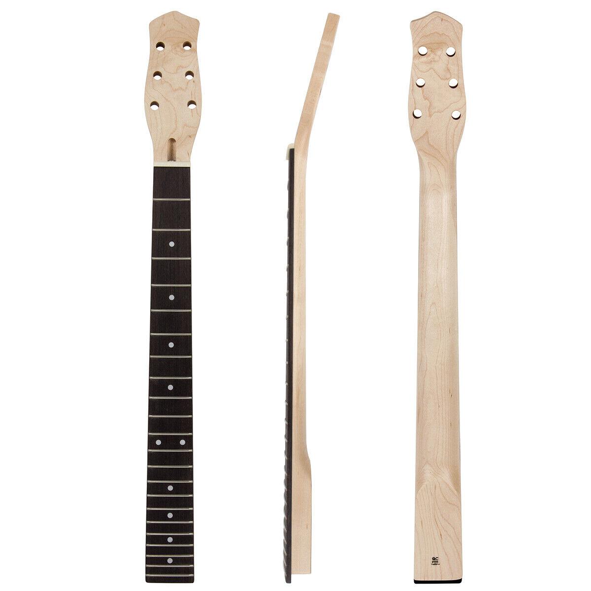 kmise electric guitar neck canada maple 22 bolt on ebay. Black Bedroom Furniture Sets. Home Design Ideas