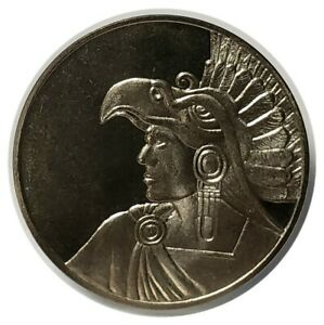 50-PESO-AZTEC-EAGLE-HEADDRESS-MEXICO-CLAD-COIN-FROSTY-DEVICES-MIRROR-FIELDS