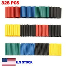 328 Pcs Heat Shrink Tubing 21 Wire Insulation Cable Wrap Assortment Kit