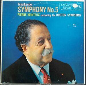 Tchaikovsky - Symphony No. 5, MONTEUX, BOSTON, RCA Red Seal LM 2239 MONO