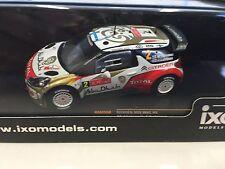 Citroën DS3 WRC Hirvonen Rally du Portugal 2013  1:43 IXO  RALLYE-RAM550