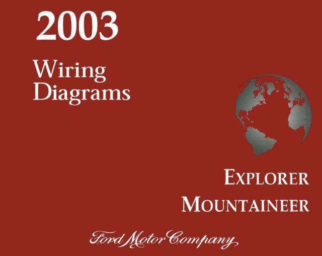 2003 Ford Explorer Mercury Mountaineer Wiring Diagrams