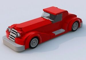 Custom Lego 1950s Batmobile LXF File and Instructions Only