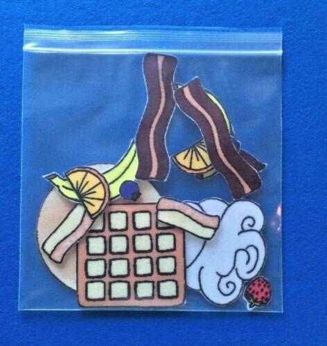 Flip Flap Jack Felt Flannel Board Set
