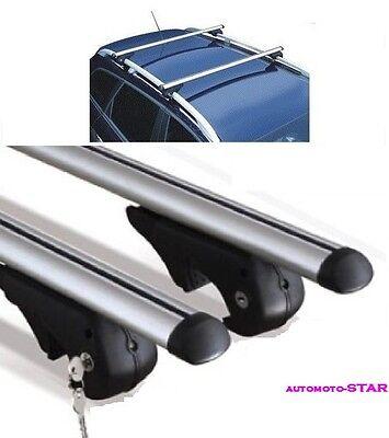barre portatutto Mitsubishi Outlander 2011 portapacchi alluminio brio XL +chiave