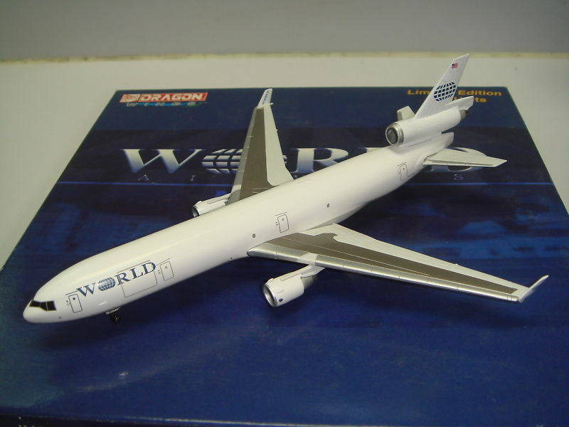 Jet-X 400 World Airways MD-11  1990s color  1 400