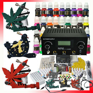 Complete-Tattoo-Kit-3-Top-Machines-40-Color-Inks-Power-Shipping-From-USA-MGT-4
