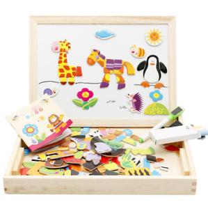 Enfant-Puzzle-magnetique-Animal-Dessin-Tableau-de-peinture-Jouet-Education-Jeu-1