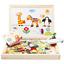 Enfant-Puzzle-magnetique-Animal-Dessin-Tableau-de-peinture-Jouet-Education-Jeu-1 miniature 1