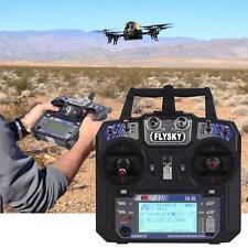 FS-i6 Flysky AFHDS 2A 6 Channel Radio Transmitter Receiver for RC Quadcopter KJ