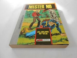 MISTER-NO-ALBUM-NUMERO-52-MENSUEL-157-158-159-EDIT-MON-JOURNAL-1989