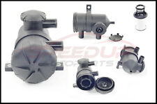 Pro 200 Turbo Vent Oil Catch Can + Filter for Mazda BT50 Bravo turbo diesel
