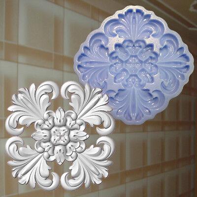 1 Rosette Nr 3 Ornament Gießform