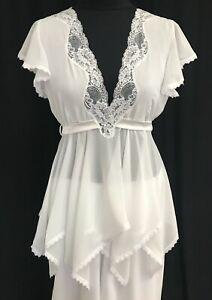 Jane-Woolrich-Polyester-pajama-2-piece-set-white