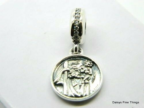 736c00032 ... low price authentic pandora sterling silver guardian of travel charm  791715cz retired ebay 0f887 35068