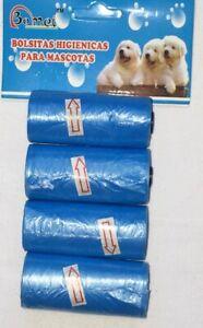 4-Roll-Biodegradable-Garbage-Dog-Poo-Bag-Pet-Cat-Waste-Poop-Clean-Pick-Up-Bags