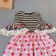 NEW Girls Boutique Elephant Llama Short Sleeve Ruffle Dress 3-4 5-6 6-7 7-8