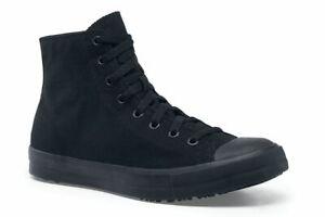 Shoes-for-Crews-Men-039-s-Pembroke-High-Top-Canvas-Slip-Resistant-Sneakers
