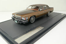CADILLAC FLEETWOOD BROUGHAM 1978 BROWN METALLIC MATRIX SCALE MODELS MX20301-391