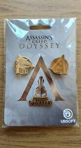 Assassins-Creed-Odyssey-EDIZIONE-LIMITATA-IN-METALLO-PIN-DISTINTIVI-Nuovo