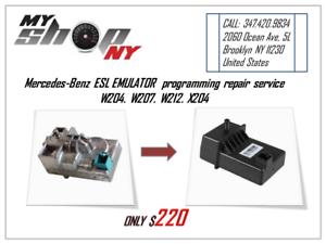 Details about Mercedes-Benz Emulator Reprogramming ESL (Electronic Steering  Lock) service