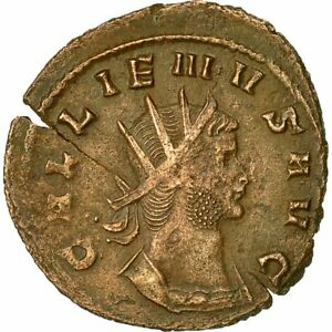 Smart Antoninianus #510274 Vellón Less Expensive Mbc Ad 260-268 Moneda Rome Gallienus