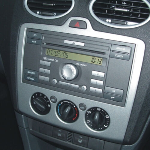 FORD FIESTA MK7 06 Auto Stereo Doppio DIN FASCIA STERZO interfaccia KIT DFP-07-09