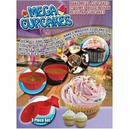 Big Top Giant Cupcake Mould Jumbo Silicone Birthday Cup Cake Bakeware Baking For Sale Online