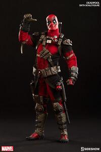 """Deadpool Wade Wilson 1/6 Marvel Comics 12"""" Figur Sideshow Starker Widerstand Gegen Hitze Und Starkes Tragen Marvel-superhelden"""