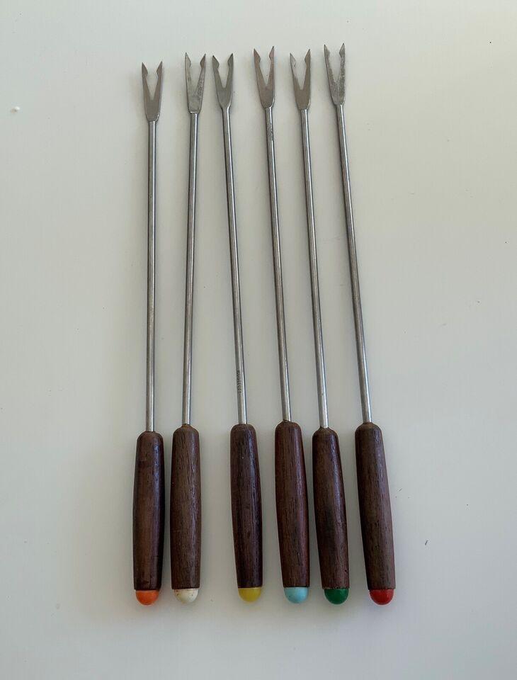 Bestik, Fondue gafler, RETRO