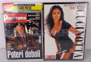 Maria Grazia Cucinotta Calendario.Details About Maria Grazia Cucinotta Calendar 1997 Panorama 1996 New Sealed Show Original Title