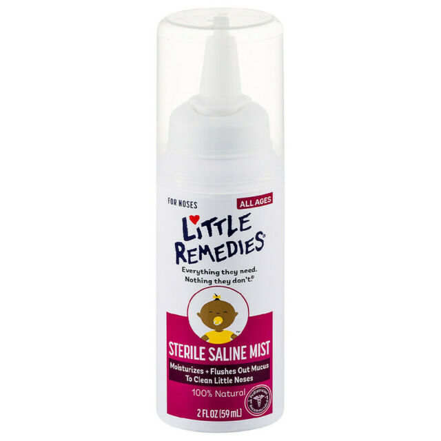 Baby -Little Remedies Sterile Saline Mist