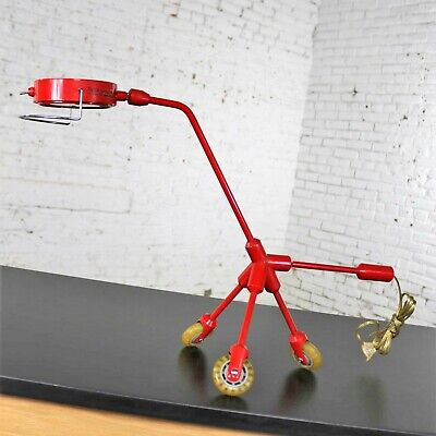 Kila Red Dog Rolling Table Lamp By, Ikea Red Table Lamps