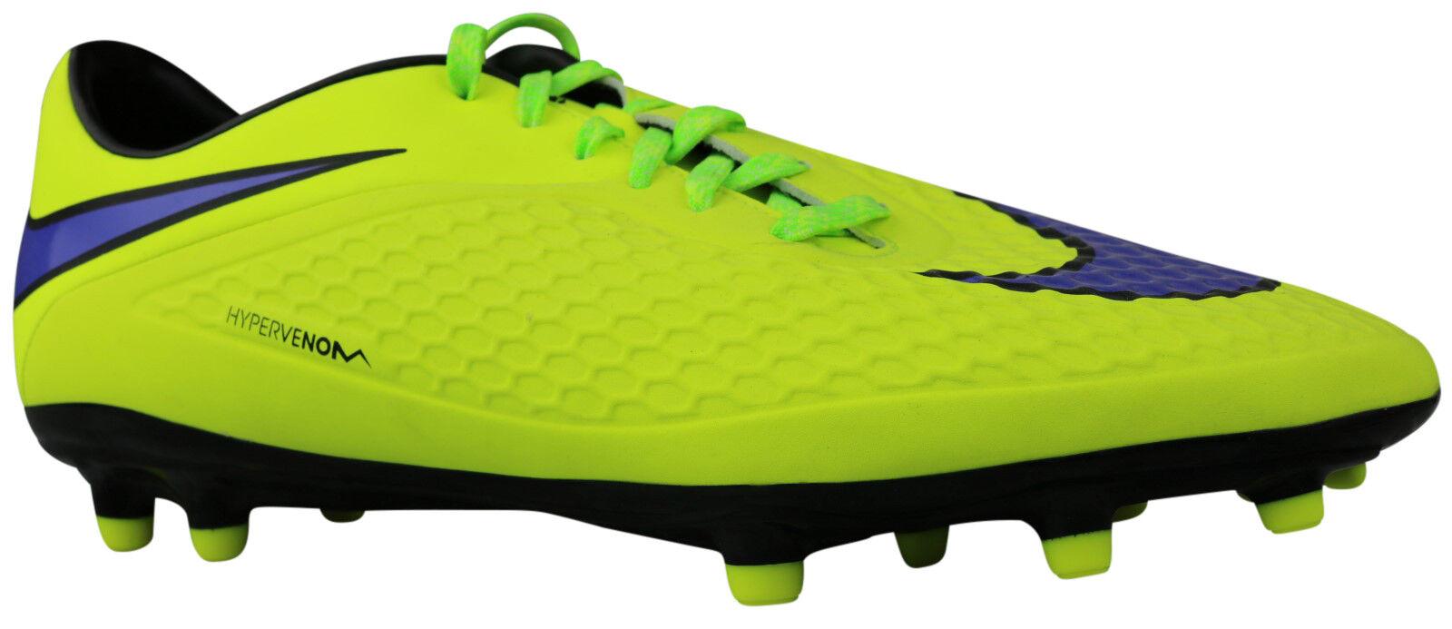 Nike hypervenom Phelon FG botas de fútbol señores amarillo 599730-758 talla 45 nuevo & OVP