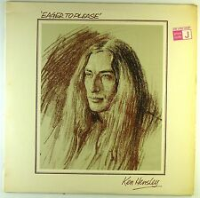 """12"""" LP - Ken Hensley - Eager To Please - A3457 - washed & cleaned"""